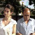Penélope Cruz et son père Eduardo, à Madrid, le 20 mai 2003.