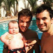Alex Goude et son mari Romain : Tendres selfies avec leur fils Elliot
