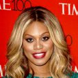 Laverne Cox à la soirée Time 100 à New York, le 21 avril 2015.