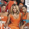 Laverne Cox et les stars d'Orange is the New Black en couverture du mensuel Essence, juin 2015.