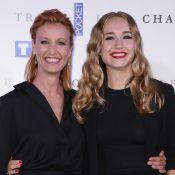 Alexandra Lamy soutenue en beauté par sa fille Chloé et sa soeur Audrey...