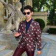 Joe Jonas lors du défilé Valentino (collection homme printemps-été 2016) à l'hôtel Salomon de Rothschild. Paris, le 24 juin 2015.