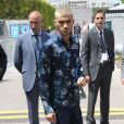 Zayn Malik arrive au Parc Andre-Citroën pour assister défilé Louis Vuitton (collection homme printemps-été 2016). Paris, le 25 juin 2015.