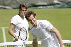 Amélie Mauresmo, future maman heureuse : Sourires complices avec Andy Murray