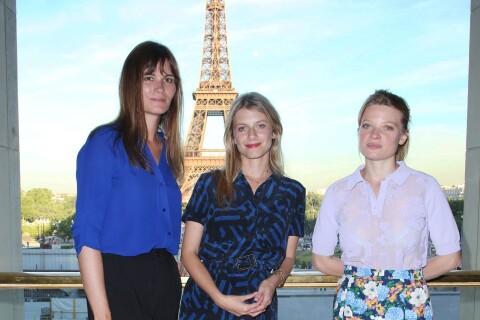 Mélanie Laurent, radieuse auprès de Marina Hands et Mélanie Thierry