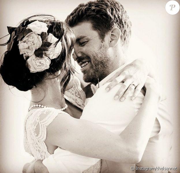 Chelsea Tyler a posté une photo de son mariage avec Jon Foster sur Intagram. La cérémonie s'est déroulée le 20 juin 2015 à Carmel.