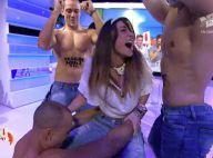 Capucine Anav : Séquence hot et un peu gênante avec trois strip-teaseurs !