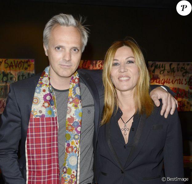Mathilde Seigner et Mathieu Petit - Soirée pour les 12 ans de l'Atelier du Maître Albert à Paris, le 30 mars 2015.