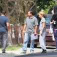 Exclusif - Ashley Tisdale et son mari Christopher French vont voir l'avancement des travaux de leur nouvelle maison à Encino, le 2 juillet 2015.