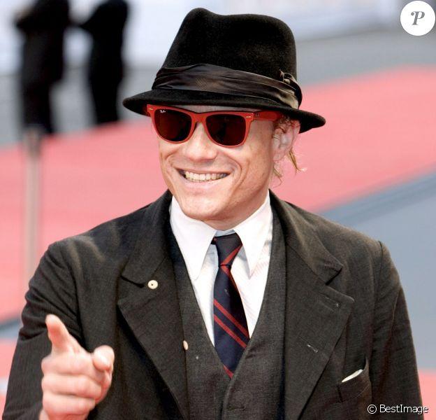 Heath Ledger à Venise en septembre 2007.