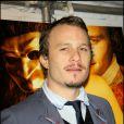 Heath Ledger à New York en décembre 2005.