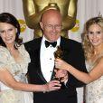 Sally Bell, Kim Ledger et Kate Ledger aux Oscars 2009.