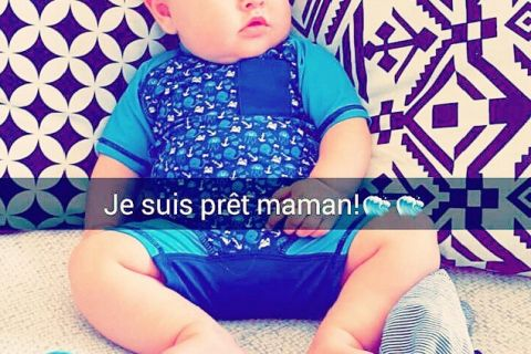 Stéphanie Clerbois : Maman épanouie, elle crie son amour à son petit Lyam