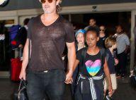 Angelina Jolie et Brad Pitt : De retour à L.A. avec leurs six beaux enfants