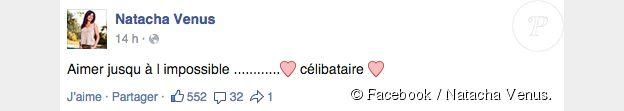 Nathalie est célibataire, la cougar n'est plus en couple avec Vivian. Juillet 2015.