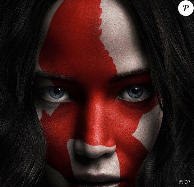 Nouveau poster avec Jennifer Lawrence de Hunger Games : La Révolte - Partie 2 en salles le 18 novembre 2015