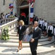Obsèques de Charles Pasqua en la cathédrale Notre-Dame du Puy à Grasse, le 7 juillet 2015