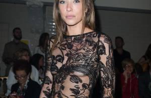 Fashion Week : Laura Smet en transparence avec les fans de JP Gaultier