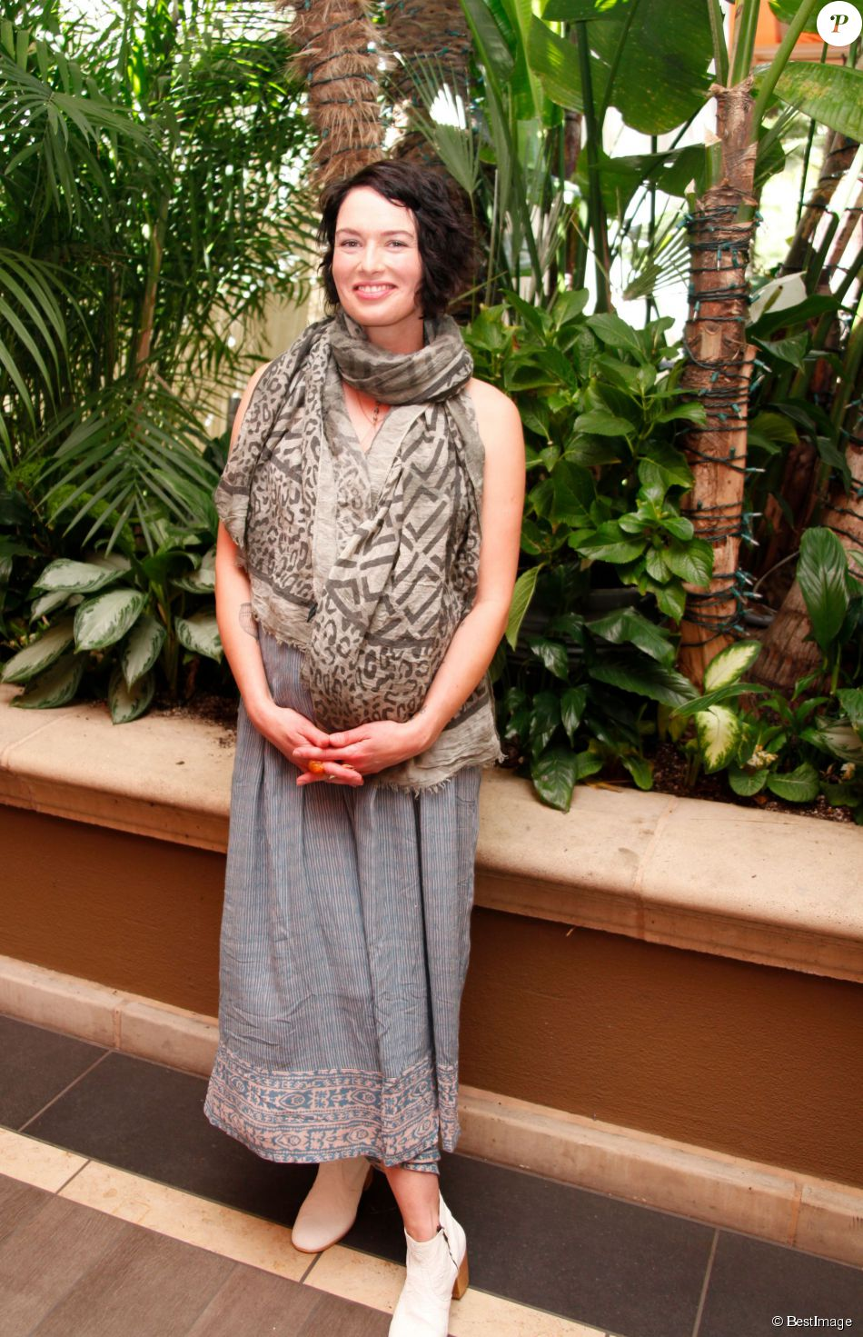 "Lena Headey - Conférence de presse de la série ""Game of Thrones"" à Beverly Hills le 25 mars 2015."