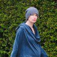 Lena Headey, enceinte, à Los Angeles, le 11 mars 2015.