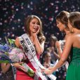 Nia Sanchez a été élue nouvelle Miss USA à Baton Rouge, le 8 juin 2014.