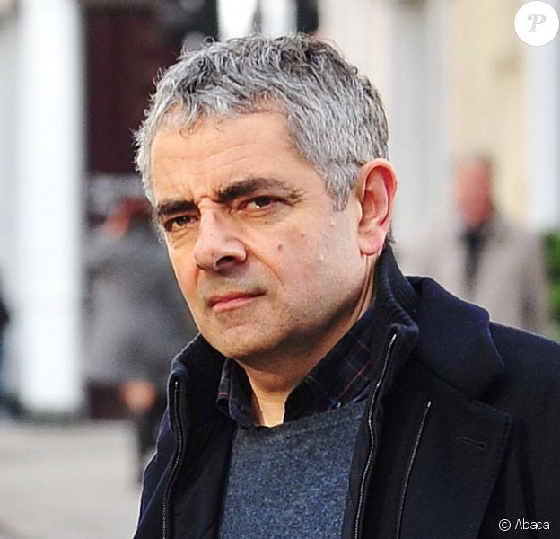 Rowan Atkinson à Chelsea, Londres, le 25 janvier 2014.