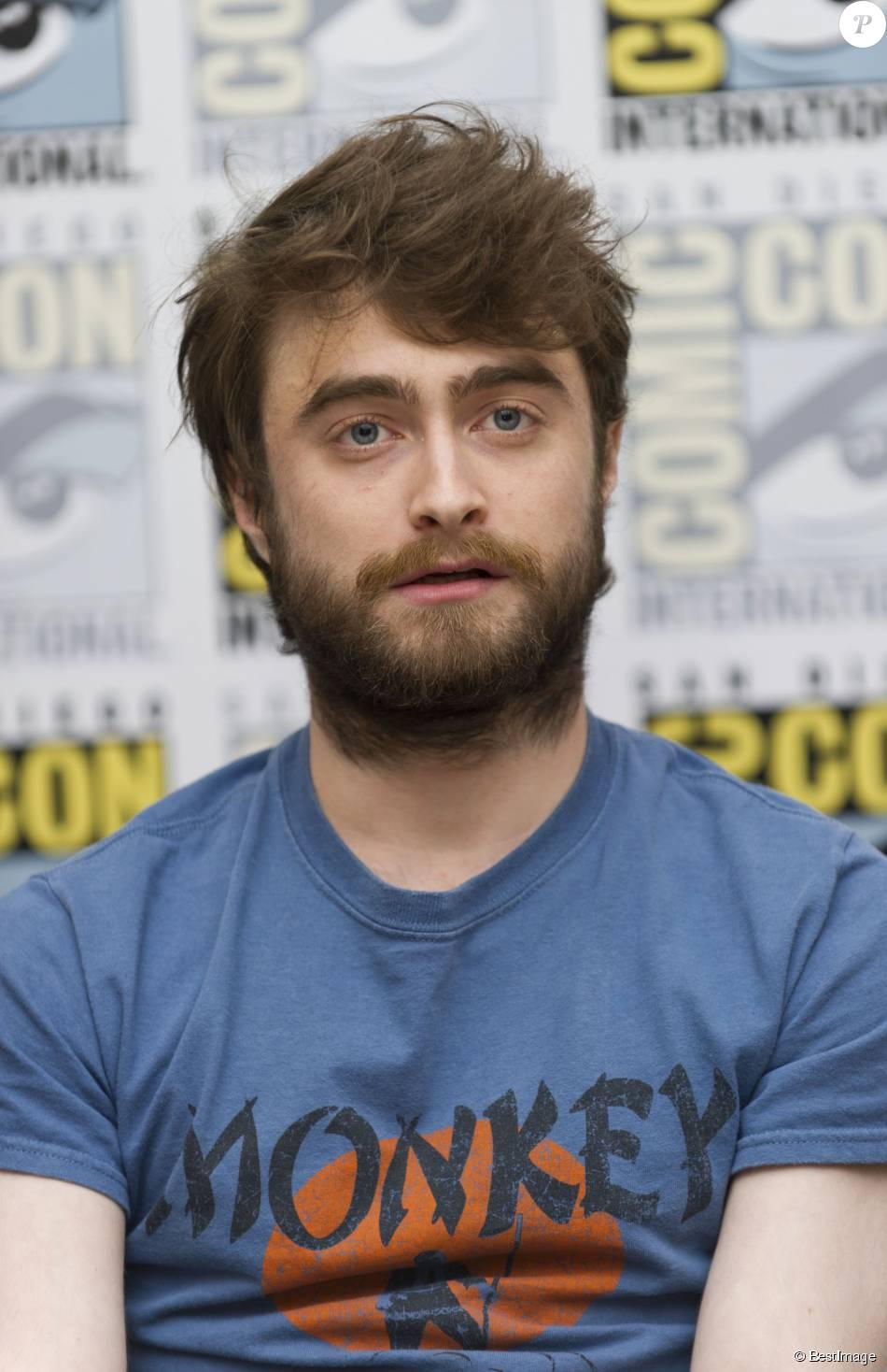 Daniel Radcliffe en conférence de presse au Comic-Con à San Diego le 11 juillet 2015