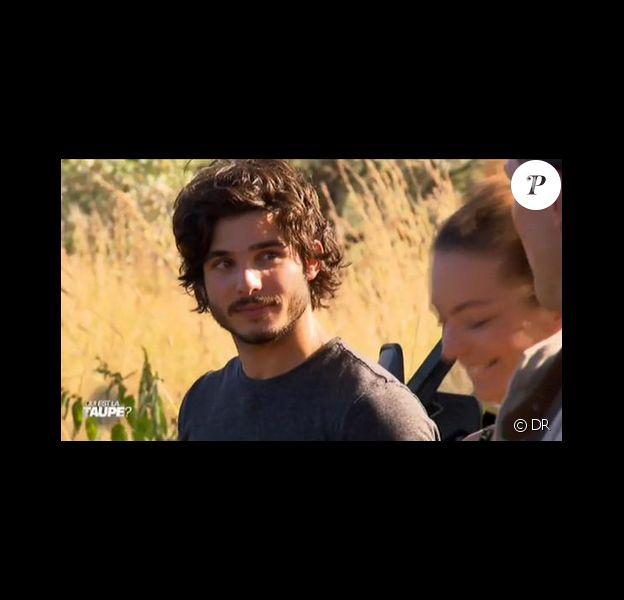 """Stefan dans """"Qui est la taupe ?"""" sur M6, mercredi 15 juillet 2015."""