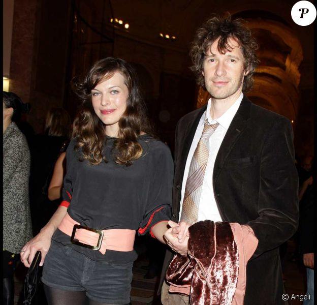 Milla Jovovich et son compagnon Paul W. S. Anderson
