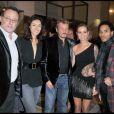 Jean Reno et sa femme Zofia, Johnny Hallyday et Laeticia, Lenny Kravitz