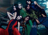 Kendall et Kylie Jenner, Bella et Gigi Hadid, Balmain réunit les soeurs célèbres