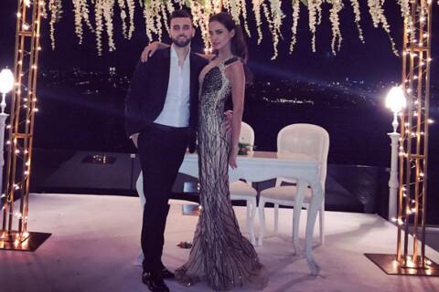 Leila Ben Khalifa : Ultradécolletée, en route vers le mariage avec Aymeric ?