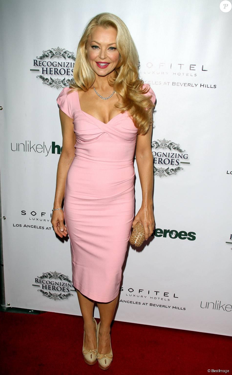 """Charlotte Ross à la 3ème soirée annuelle caritative """"Unlikely Heroes Awards"""" à Los Angeles, le 8 novembre 2014"""