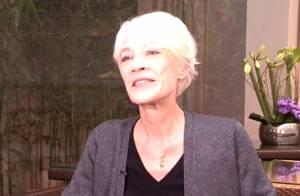 Françoise Hardy, fatiguée mais souriante : Une