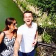 Emily Thomas avec son boyfriend Alex Roberts à Rome (photo postée le 21 avril 2015)