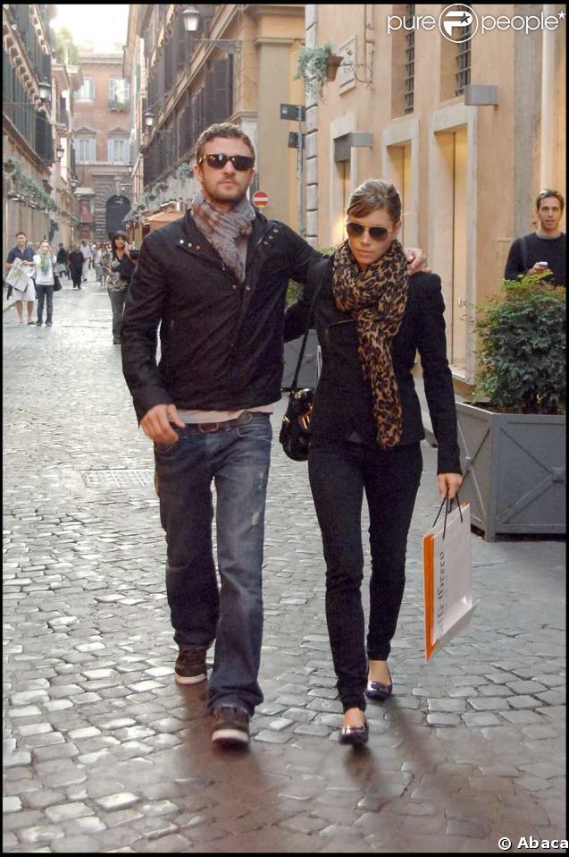 Jessic Biel et Justin Timberlake