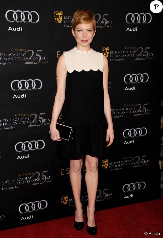 Michelle Williams dans une robe Victoria Beckham très rapidement sold out