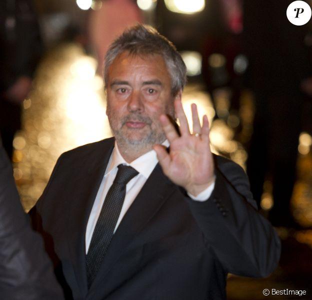 Luc Besson -  Dîner au Fouquet's lors de la 40e cérémonie des César à Paris le 20 février 2015.