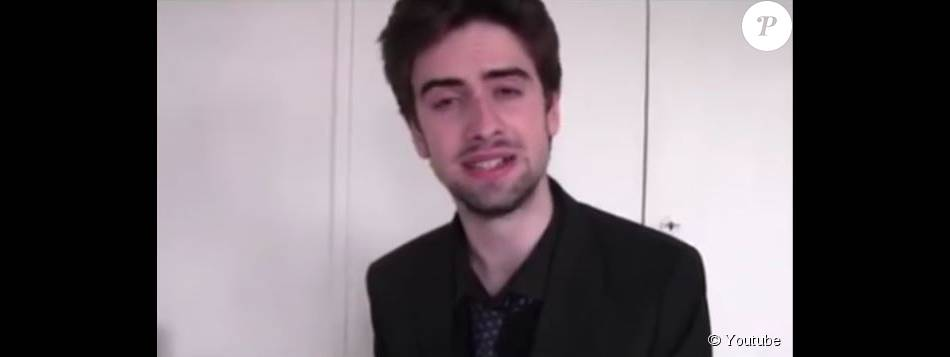 Jimmy Bregy dans sa vidéo hommage à Michel Delpech sur Facebook. Juin 2015.