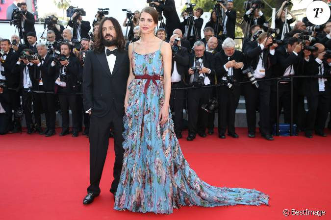 alessandro michele directeur artistique de gucci et charlotte casiraghi mont e des marches. Black Bedroom Furniture Sets. Home Design Ideas