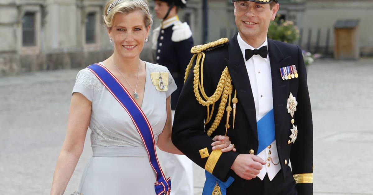 La comtesse sophie et son mari le prince edward comte de wessex assistent au mariage du prince - Sophie jovillard et son mari ...