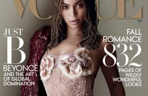 Beyoncé : Divine pour sa rentrée mode avec Vogue