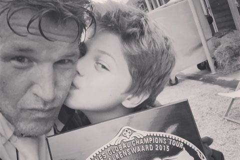 Benjamin Castaldi : Selfie craquant avec son petit Enzo, très fier de son papa !