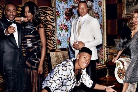 Empire : Naomi Campbell et les stars de la série, sur leur 31 pour Vogue