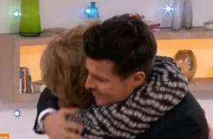 Vincent Niclo et sa maman en larmes sur le plateau de Sophie Davant