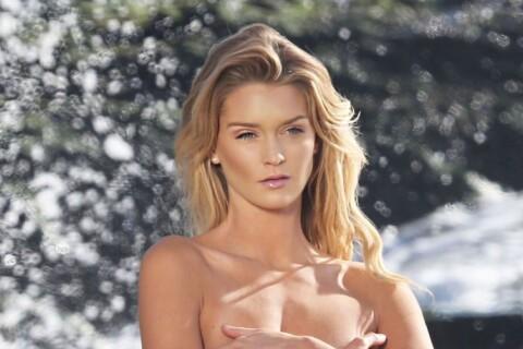 Kayla Lewis : Torride en bikini ou topless, la bombe se prélasse à la plage