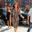 Caitlyn Jenner en robe léopard à New York le 30 juin 2015.