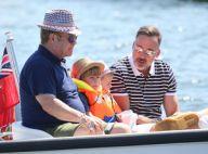 Elton John et David Furnish : Dolce vita à Saint-Tropez avec les enfants...