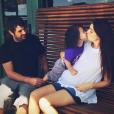 Shiri Appleby confirme sur Twitter attendre son deuxième enfant, le 24 août 2015.