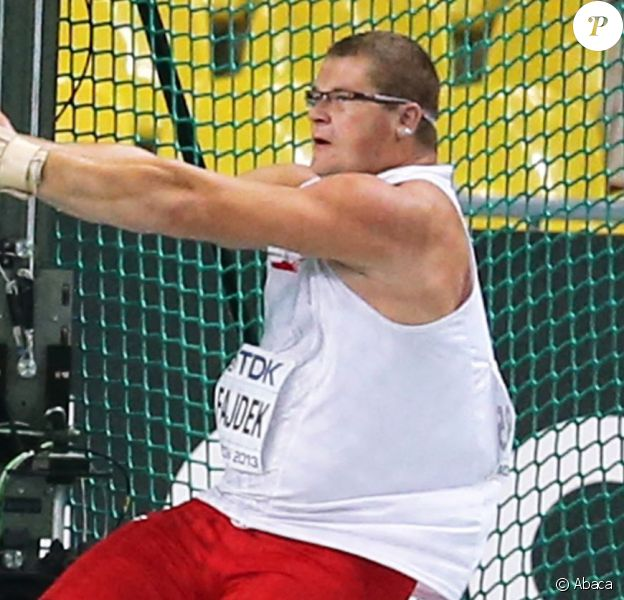 Poland's Pawel Fajdek competes in the men's hammer throw final at the 2013 IAAF World Championships at the Luzhniki stadium in Moscow, Russia, on August 12, 2013. Photo by Giuliano Bevilacqua/ABACAPRESS.COM13/08/2013 - Moscow